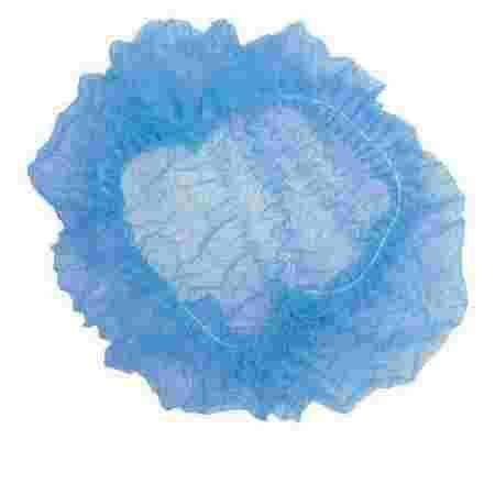 Шапочка Polix на одной резинке 100 шт (Голубая)