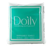 Полотенца Doily COMPACT гладкие 40х70 40 гм2 50 шт в упаковке