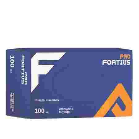 Перчатки нитрил неопудренные нестерильные Nutouch Fortius Pro 100 шт (L)