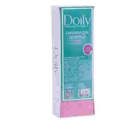 Стрипсы Doily для депиляции в коробке 7*22 см 100 шт (Розовый)