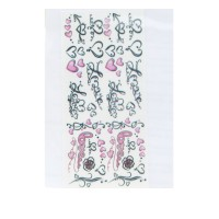 Слайдер DreamNails Little (сердечки розовые)