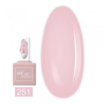 Гель-лак E.MiLac 9 мл (251 Pink Style)