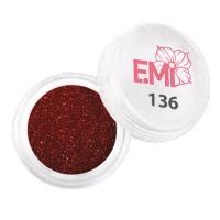 Пыль голографическая E.MI 5 г (136)