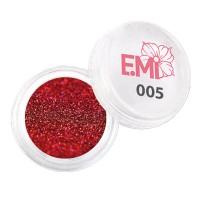 Пыль однотонная Металлик Emi (005)