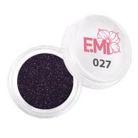 Пыль однотонная Металлик Emi (027)