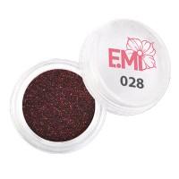 Пыль однотонная Металлик Emi (028)