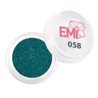 Пыль однотонная Металлик Emi (058)