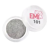 Пыль однотонная Металлик Emi (101)