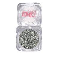 Клепки для ногтей Emi (серебро)