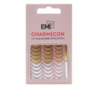 Наклейки для ногтей E.Mi Charmicon 3D Silicone Stickers (Лунулы № 104)