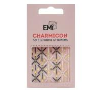 Наклейки для ногтей E.Mi Charmicon 3D Silicone Stickers (Портупеи № 93)