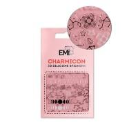 Наклейки для ногтей Charmicon 3D Silicone Stickers (Созвездие зодиака № 126)