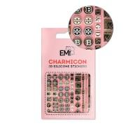 Наклейки для ногтей E.MI Charmicon 3D Silicone Stickers (164 Dolce Vita)