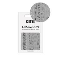 Наклейки для ногтей E.MI Charmicon 3D Silicone Stickers (171 Матрица)