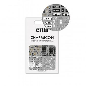 Наклейки для ногтей E.MI Charmicon 3D Silicone Stickers (180 Hype)