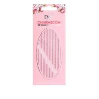Наклейки для ногтей E.Mi Charmicon 3D Silicone Stickers (Орнамент Mix белый № 2)