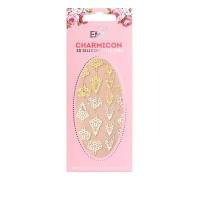 Наклейки для ногтей E.Mi Charmicon 3D Silicone Stickers (Украшение золото № 2)