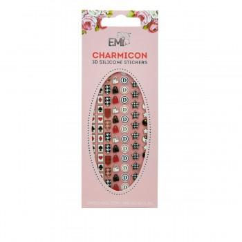 Наклейки для ногтей Charmicon 3D Silicone Stickers (Значки №57)