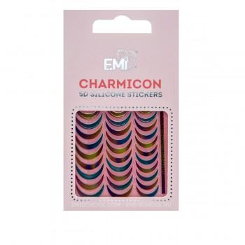 Наклейки дногтей Charmicon 3D Silicone Stickers (Лунулы № 101)