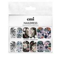 Слайдер-дизайн E.MI NailDress (66 Флористический принт)