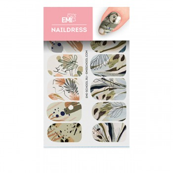 Слайдер-дизайн E.MI NailDress (51 Ботаника)
