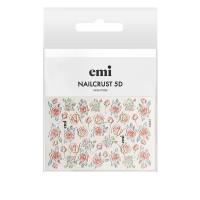 Трафарет-слайдер E.MI 5D NailCrust (№26 Розы)