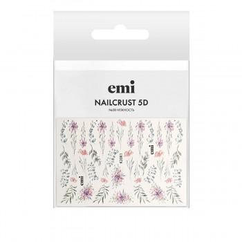 Трафарет-слайдер E.MI 5D NailCrust (№28 Нежность)