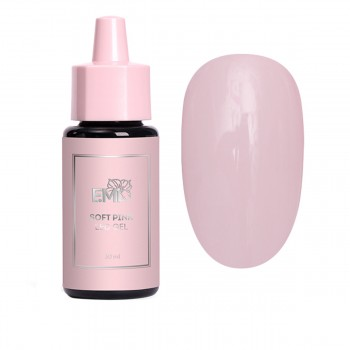 Гель Soft Pink Gel 1-фазный камуфлирующий 30 мл (бутылочка)