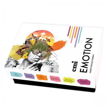 Набор гель-красок E.MI Emotion 5 мл