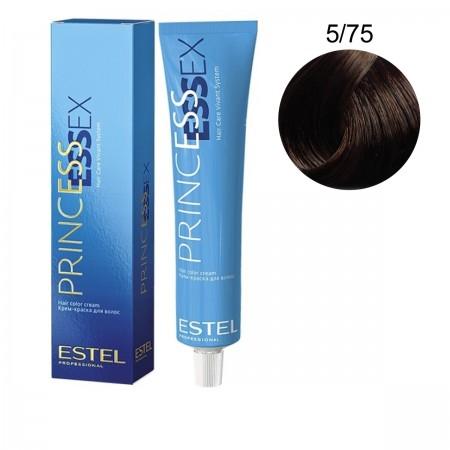 Краска для волос Estel ESSEX (5-75 Темный палисандр)