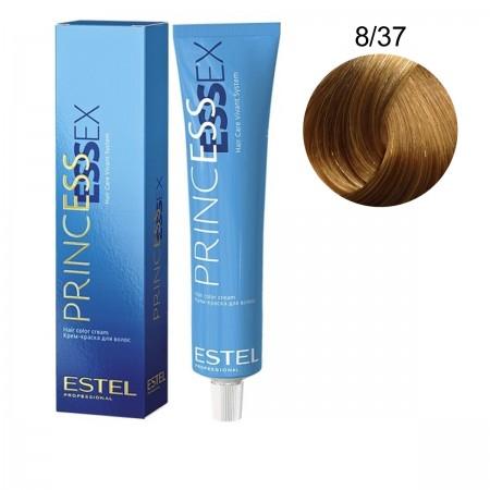 Краска для волос Estel ESSEX (8-37 Светло-русый золотисто-коричневый)