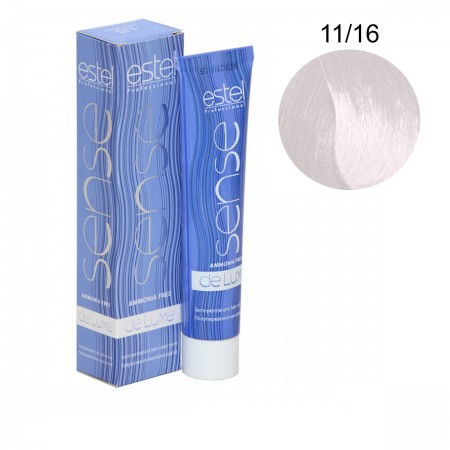 Краска для волос без аммиака Estel Sense De Luxe (11-16 Блонд пепельно-коричневый)