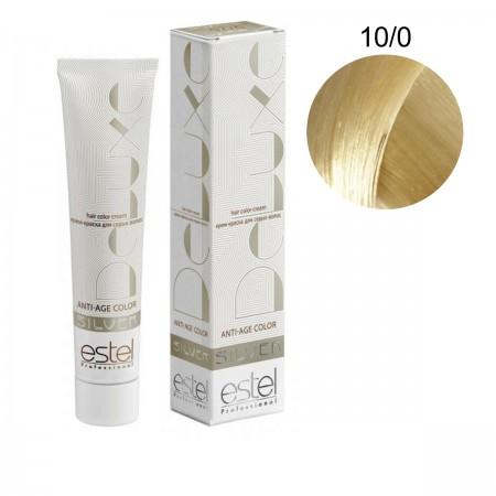 Краска для волос Estel Deluxe SILVER (10-0 Светлый блонд)