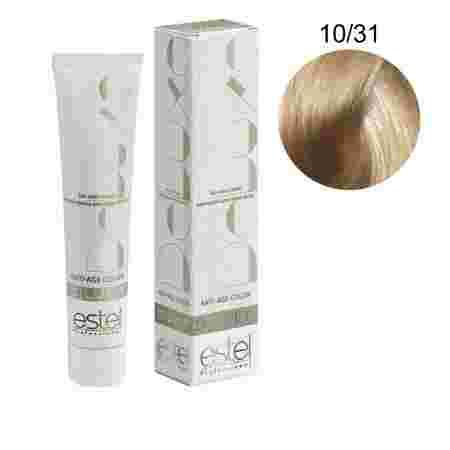 Краска для волос Estel Deluxe SILVER (10-31 Светлый блонд золотисто-пепельный)
