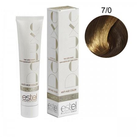 Краска для волос Estel Deluxe SILVER (7-0 Русый)
