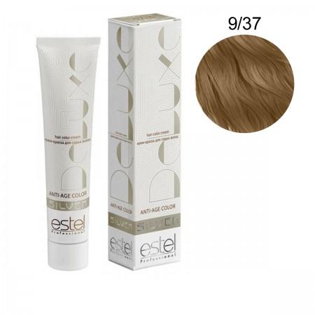 Краска для волос Estel Deluxe SILVER (9-37 Блондин золотисто-коричневый)
