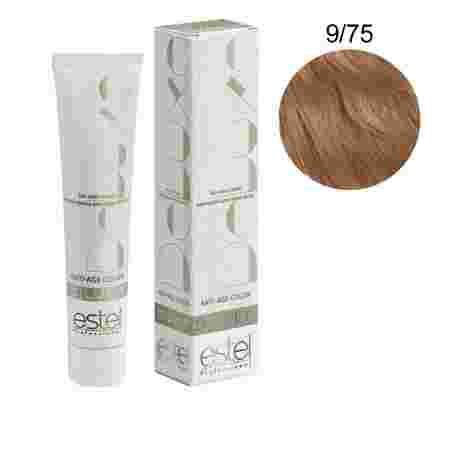 Краска для волос Estel Deluxe SILVER (9-75 Блондин коричнево-красный)