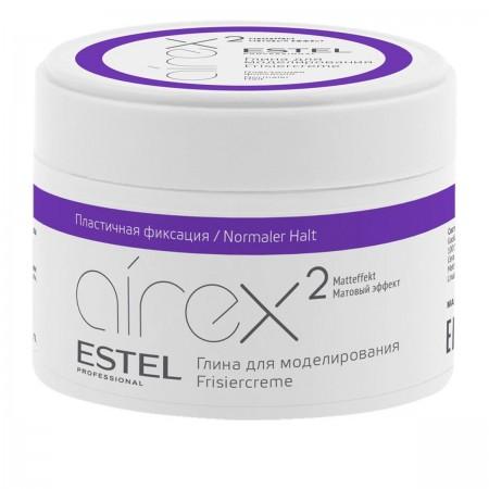 Глина Estel для моделирования волос с матовым эффектом AIREX, 65 мл