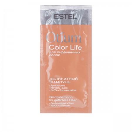 Шампунь Estel OTIUM Color Life деликатный для окрашенных волос 10 мл