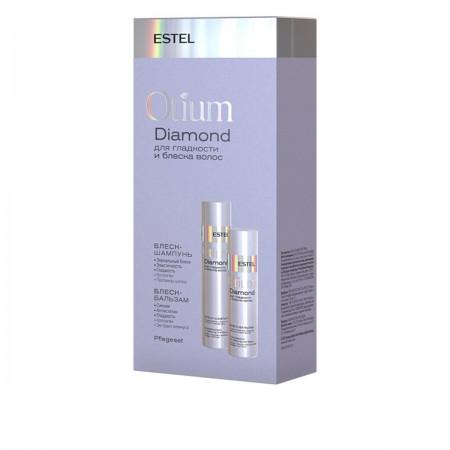 Набор ESTEL Otium DIAMOND для гладкости и блеска волос (шампунь+бальзам)