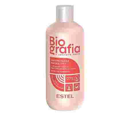 Маска для волос натуральная ESTEL BIOGRAFIA пролонгированный блеск 300 мл