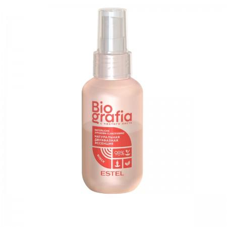 Эссенция двухфазная ESTEL BIOGRAFIA для волос Мгновенный блеск 100 мл