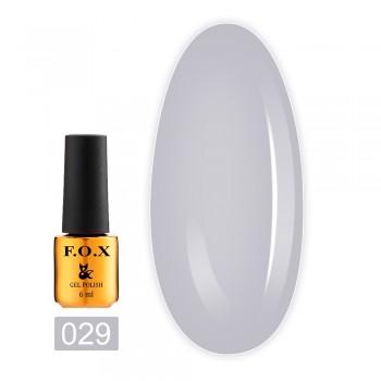 Гель-лак Fox Gold Pigment 6 мл (029)