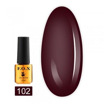 Гель-лак Fox Gold Pigment 6 мл (102)