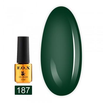 Гель-лак Fox Gold Pigment 6 мл (187)