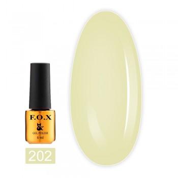Гель-лак Fox Gold Pigment 6 мл (202)