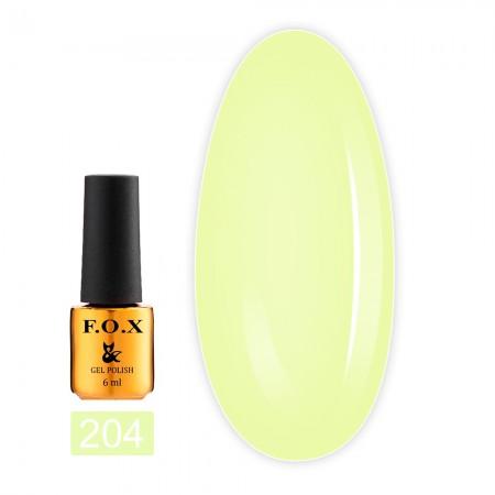 Гель-лак Fox Gold Pigment 6 мл (204)