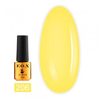 Гель-лак Fox Gold Pigment 6 мл (206)