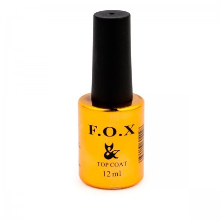 Топ для гель-лака Fox Matte Top Coat матовый, 12 мл