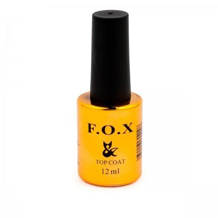 Топ для гель-лака Fox Top NO Wipe без липкого слоя, 12 мл